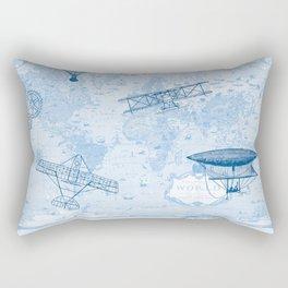 A Brief History of Flight Rectangular Pillow