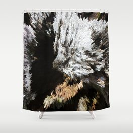 extrude Shower Curtain