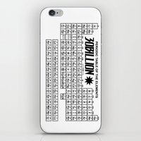 periodic table iPhone & iPod Skins featuring 30Billion CP - Periodic table Cheat sheet by 30Billion