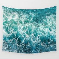 dancing waves Wall Tapestry