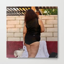 Big Girl Panties Metal Print