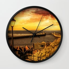 Tourists Rest Wall Clock