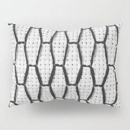 Vintage Window Grille Cross Stitch Pattern #3 Pillow Sham