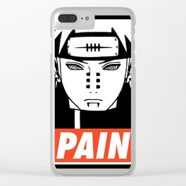 PAIN Clear iPhone Case