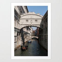 Untitled (Bridge of Sighs) Art Print