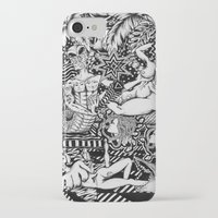 bisexual iPhone & iPod Cases featuring Psychedelic Visions of the Bisexual Shaman Chicks by cahill wessel
