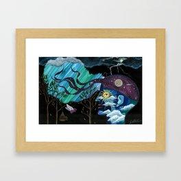 Creativity Heals Framed Art Print
