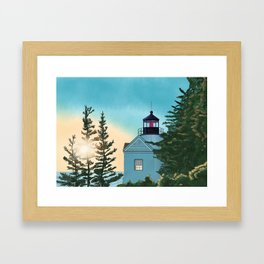Shine the Light Framed Art Print