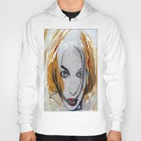 blondie Hoodies featuring Blondie by Capracotta Art