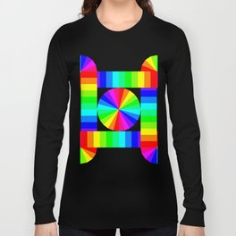 Streaming Cycles of Color Long Sleeve T-shirt