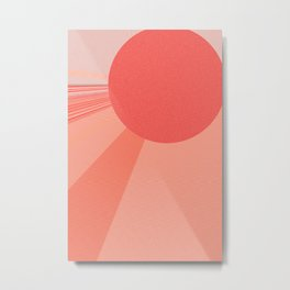 Globe Graphics N7 Metal Print