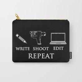Write Shoot Edit Repeat Carry-All Pouch