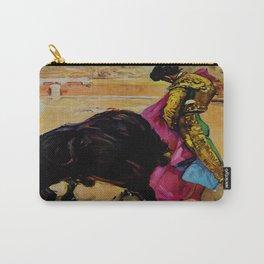 Fiesta de Toros in Spain Travel Carry-All Pouch