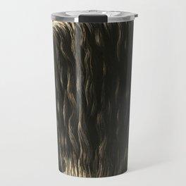 Black Friesian Draft Horse Travel Mug