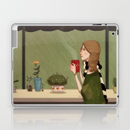 Coffee + Rain Laptop & iPad Skin
