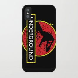 Monsters of the Underground iPhone Case
