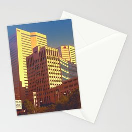 In Love With Montreal Stationery Cards