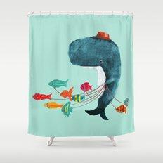 My Pet Fish Shower Curtain