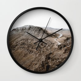 The Mountains VIII / Oregon Wall Clock