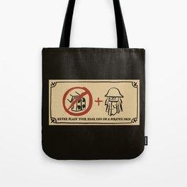 Metal Beard's Rule 1 Tote Bag