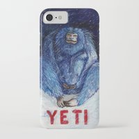 yeti iPhone & iPod Cases featuring Yeti by ----