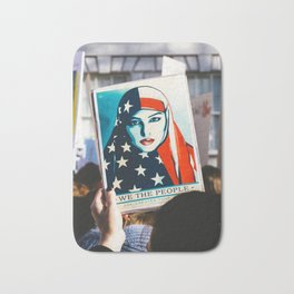 We the People - Women's March London Bath Mat