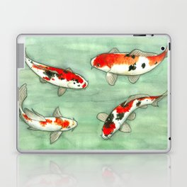 La ronde des carpes koi Laptop & iPad Skin