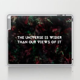 The Universe is Wider - Thoreau Laptop & iPad Skin