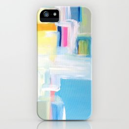 SHE COMES iN COLORS iPhone Case