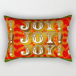 Joy! Joy! Joy! Rectangular Pillow