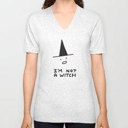 I'm Not A Witch Unisex V-Neck