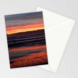 January 12 Sunset in Santa Cruz Stationery Cards