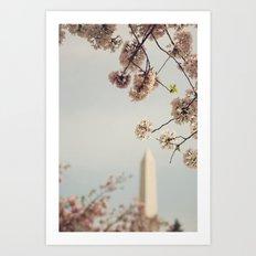 Spring in DC I Art Print