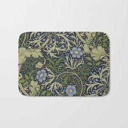 William Morris Seaweed Pattern Bath Mat