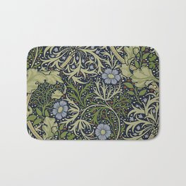 William Morris Seaweed Pattern Bath Mat