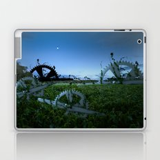 Sprockets in the Mist Laptop & iPad Skin