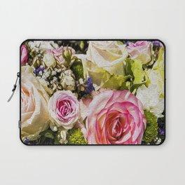 Shabby Roses Laptop Sleeve