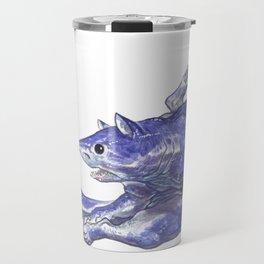 Mako Shark Cat :: Series 1 Travel Mug