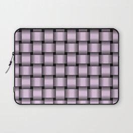 Pastel Violet Weave Laptop Sleeve