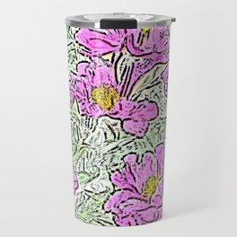 Garden Flowers Travel Mug