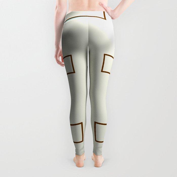 Mid-Century Modern Art 1.2 Leggings