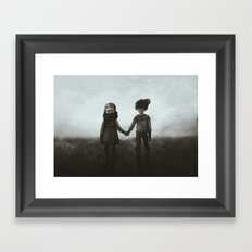 Far from Hell Framed Art Print