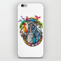 celtic iPhone & iPod Skins featuring Celtic elf by Raquel C. Hita - Sednae