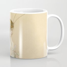"""There May Be Fairies"" Art by Warwick Goble Coffee Mug"