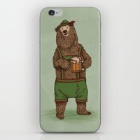 german iPhone & iPod Skins featuring Traditional German Bear by WanderingBert / David Creighton-Pester