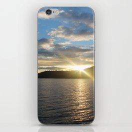 Peeking Sun iPhone Skin
