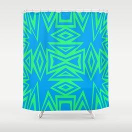 Firethorn Green - Coral Reef Series 013 Shower Curtain