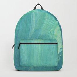 Blue wash Backpack