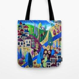 Delphi 4 Tote Bag