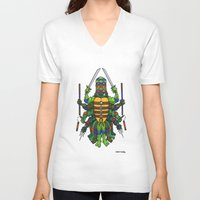 tmnt V-neck T-shirts featuring TMNT by Artifact Supply